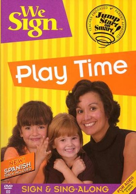 We Sign Play Time - DVD   -