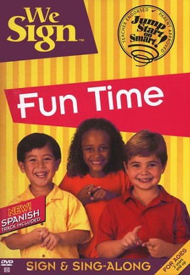 We Sign Fun Time - DVD   -