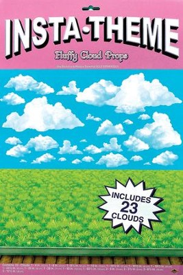 Mighty Fortress VBS: Cloud Props (Pack of 23)   -