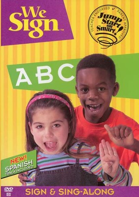 We Sign ABC - DVD   -