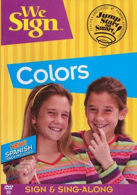 We Sign Colors - DVD   -
