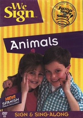 We Sign Animals - DVD   -