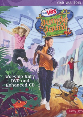 Jungle Jaunt Worship Rally DVD / Enhanced CD  -
