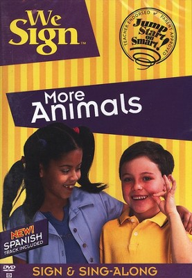 We Sign More Animals - DVD   -