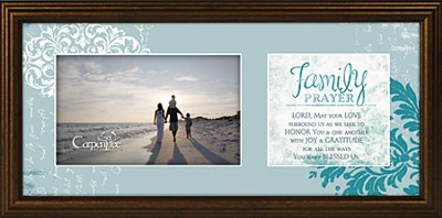 Family Prayer Framed Print  -