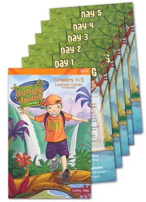 Grades 1-3 Learner Cards, pack of 10   -