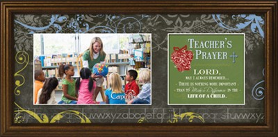 Teacher's Prayer Framed Print  -