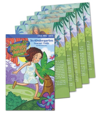 Learner Guides, pack of 10--3s to Kindergarten   -