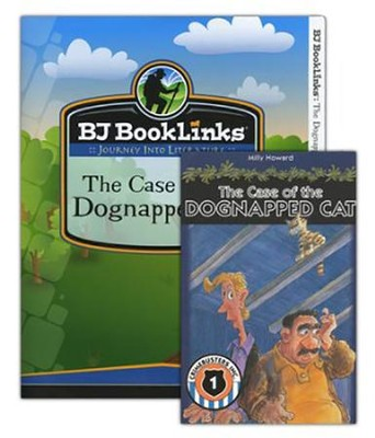BJU BookLinks Grade 3 The Case of the Dognapped Cat  Teaching Guide & Novel  -