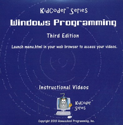 KidCoder: Windows Programming Course, Supplemental Instructional DVD, 3rd Edition  -