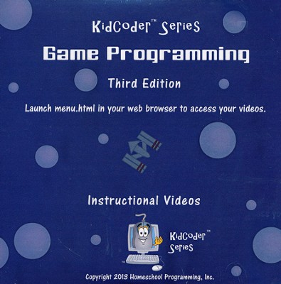 KidCoder: Game Programming Supplemental Instructional DVD  -