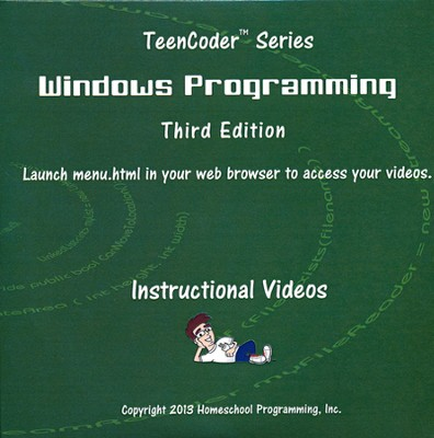 TeenCoder: Windows Programming Supplemental Instructional DVD  -