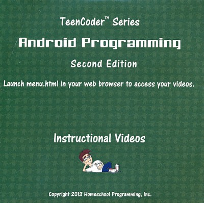 TeenCoder: Android Programming Supplemental Instructional DVD, 2nd Edition  -