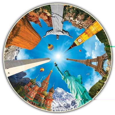 The Round Table Collection: Legendary Landmarks, 700 Piece Puzzle    -