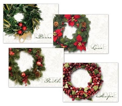 Glad Tidings, Box of 12 Assorted Christmas Cards  -