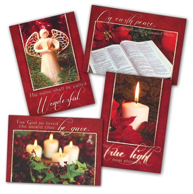 The Lord Has Come, Box of 12 Assorted Christmas Cards  -