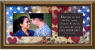 You Have My Heart, Military Photo Frame  -