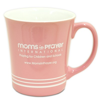 Moms in Prayer, Pink Mug   -