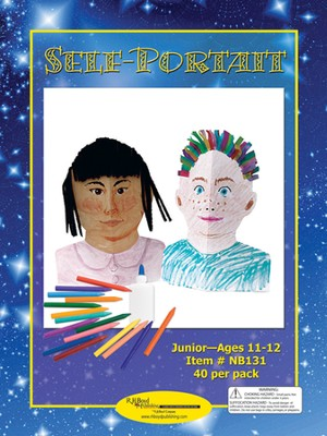 Self-Portrait Craft Kits, 40 Pack, Ages 11-12   -
