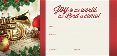 Joy to the World, Envelopes, 100  -