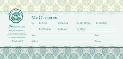 My Offering (Proverbs 3:9)/ 100 Envelopes   -