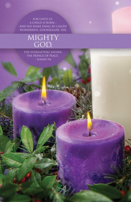 Mighty God (Isaiah 9:6) Advent Bulletins, 100  -