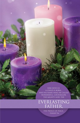 Everlasting Father (Isaiah 9:6) Advent Bulletins, 100  -
