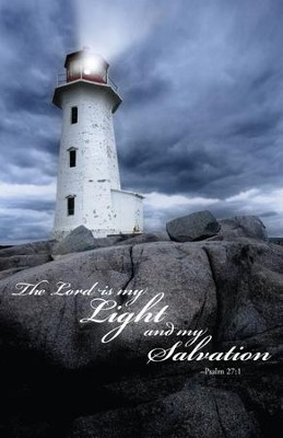 The Lord Is My Light (Psalm 27:1) Bulletins, 100  -