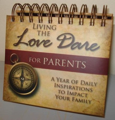 The Love Dare For Parents Flip Calendar  -     By: Stephen Kendrick, Alex Kendrick