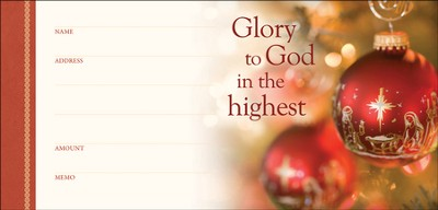Glory to God in the Highest (Luke 2:14) Envelopes, 100  -