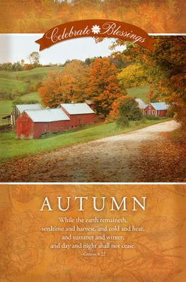 Celebrate the Blessings, Autumn (Genesis 8:22) Bulletins, 100  -