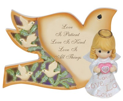 Love is Patient, LED Love Angel, Precious Moments  -     By: Precious Moments