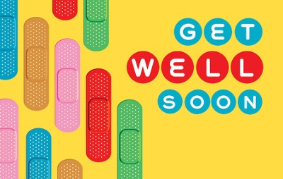 Get Well Soon, Postcards, 25  -