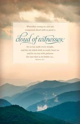 Cloud of Witnesses (Hebrews 12:1) Bulletins, 100  -
