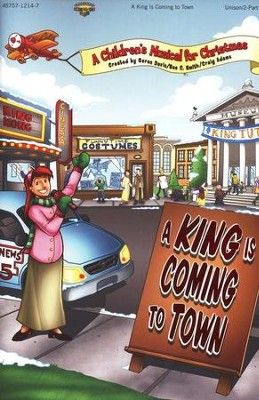 A King Is Coming To Town   -