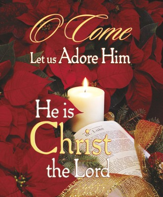 O Come, Let Us Adore Him, Large Bulletins, 100  -