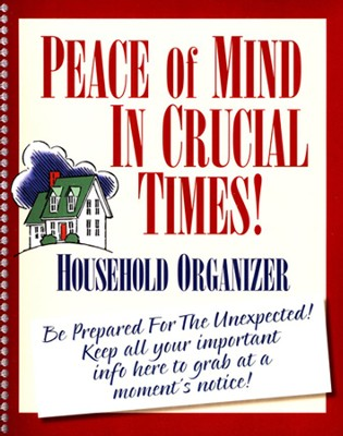 Peace of Mind Organizer  -