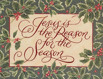 Jesus is the Reason for the Season Christmas Cards, Box of 18  -     By: Jane Shasky