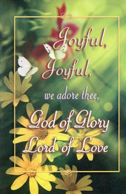 Joyful, Joyful, We Adore Thee Bulletins, 100  -