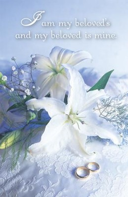 I Am My Beloved's and My Beloved Is Mine (Song Of Solomon 6:3) Bulletins, 100  -