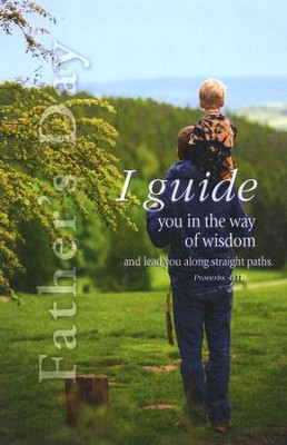 Along Straight Paths (Proverbs 4:11, NIV) Bulletins, 100  -