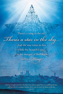 There's A Star In the Sky (Luke 2:7) Bulletins, 100  -