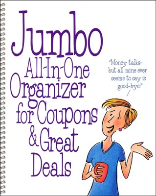Jumbo Coupon Organizer  -