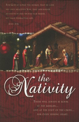 The Nativity (John 3:16) Bulletins, 100  -