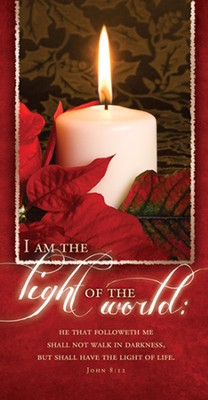 I Am the Light Of the World (John 8:12) Offering Envelopes, 100  -