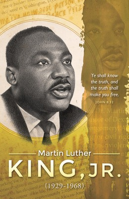 The Truth Shall Set You Free, Martin Luther King, Jr. (John 8:32) Bulletins, 100  -