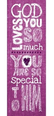 God Loves You (Matthew 19:14, ESV) Bookmarks, 25  -