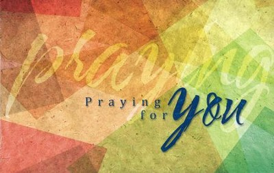 Praying for You (Colossians 1:3) All Occasion Postcards, 25  -