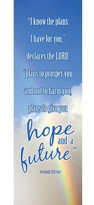 For I Know the Plans (Jeremiah 29:11, NIV) Bookmarks, 25  -