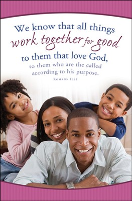 Work Together For Good (Romans 8:28) Bulletins, 100  -
